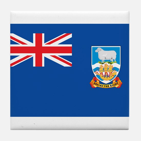 FALKLAND ISLANDS Tile Coaster