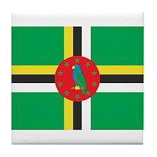 DOMINICA Tile Coaster