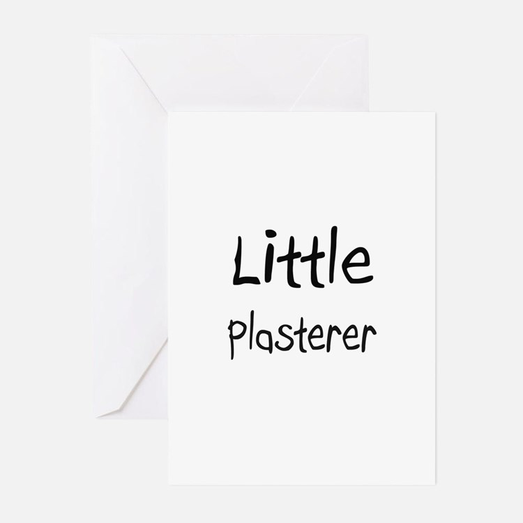 Little Plasterer Greeting Cards (Pk of 10)