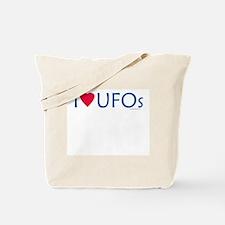 I Love UFOs - Tote Bag
