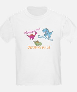 Mom, Dad, & Jaydenosaurus T-Shirt