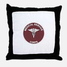 MEDICAL-SERVICE-CORPS Throw Pillow