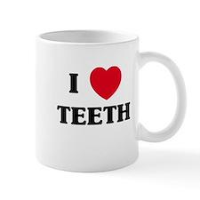 I Love Teeth Mug