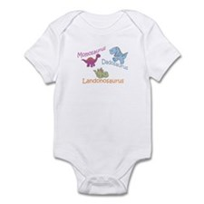 Mom, Dad, & Landonosaurus Infant Bodysuit