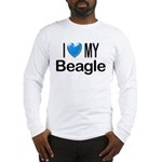 I Love My Beagle Long Sleeve T-Shirt