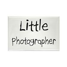 Little Photographer Rectangle Magnet