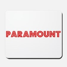 Retro Paramount (Red) Mousepad
