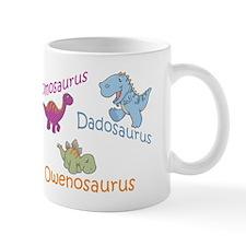 Mom, Dad, & Owenosaurus Mug