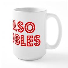 Retro Paso Robles (Red) Mug