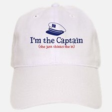 I'm the Captain 2 Baseball Baseball Cap