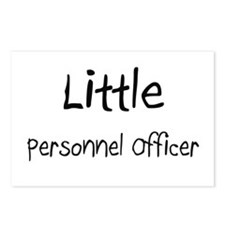 Little Personnel Officer Postcards (Package of 8)