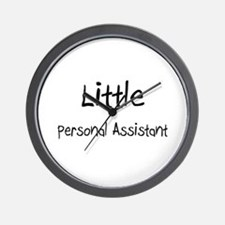 Little Personal Assistant Wall Clock
