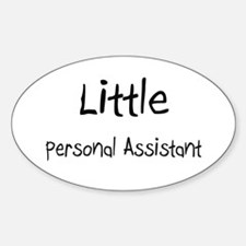 Little Personal Assistant Oval Decal