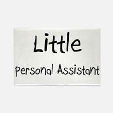 Little Personal Assistant Rectangle Magnet