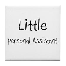 Little Personal Assistant Tile Coaster