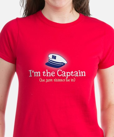 I'm the Captain 2 Women's Dark T-Shirt