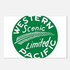 Western Pacific Scenic Li Postcards (Package of 8)