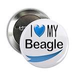 I Love My Beagle 2.25
