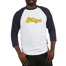 Retro Miya (Gold) Baseball Jersey