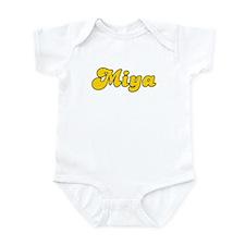 Retro Miya (Gold) Infant Bodysuit