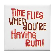 Time Flies - Tile Coaster
