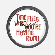 Time Flies - Wall Clock