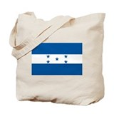 Honduras flag Canvas Bags