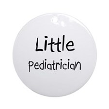 Little Pediatrician Ornament (Round)