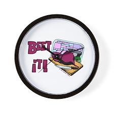 Beet It Wall Clock