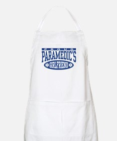 Proud Paramedic's Girlfriend BBQ Apron
