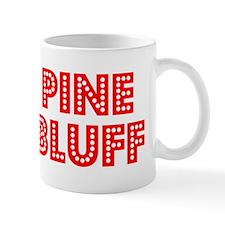Retro Pine Bluff (Red) Mug