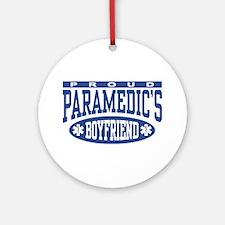 Proud Paramedic's Boyfriend Ornament (Round)