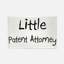 Little Patent Attorney Rectangle Magnet