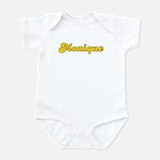 Retro Monique (Gold) Infant Bodysuit
