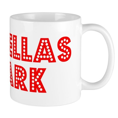 Retro Pinellas Park (Red) Mug