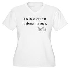 Robert Frost 16 T-Shirt
