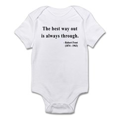 Robert Frost 16 Infant Bodysuit