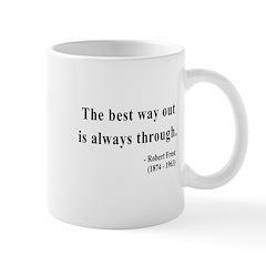 Robert Frost 16 Mug