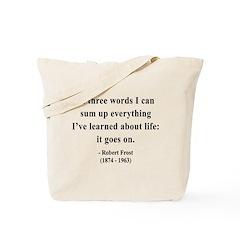 Robert Frost 15 Tote Bag