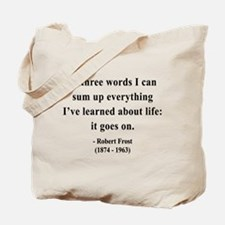 Robert Frost 15 Tote Bag