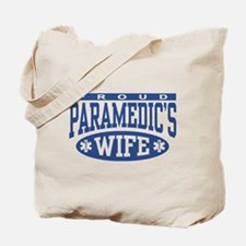Proud Paramedic's Wife Tote Bag