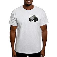 GRAY GREY MONSTER TRUCKS Ash Grey T-Shirt