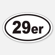 29er Euro Oval Stickers