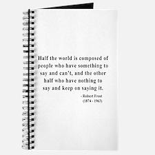 Robert Frost 14 Journal