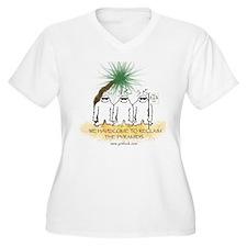 yeti pyramid Plus Size T-Shirt