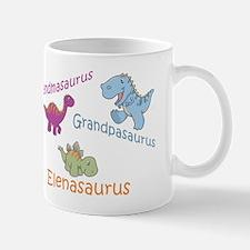 Grandma, Grandpa & Elenaosaur Mug