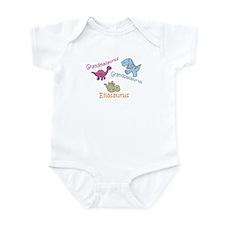 Grandma, Grandpa & Ellaosauru Infant Bodysuit