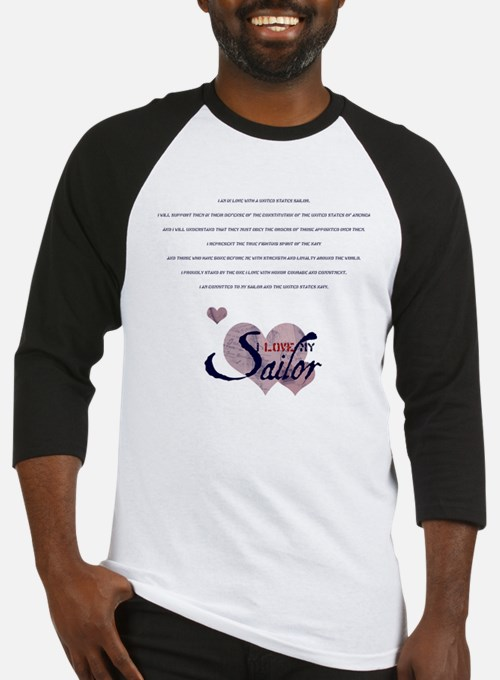 sailor's spouse creed Baseball Jersey