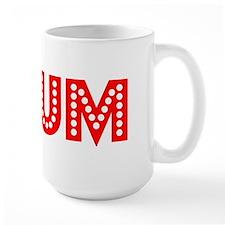 Retro Plum (Red) Mug