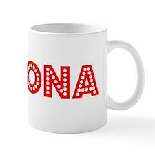 Retro Pomona (Red) Mug
